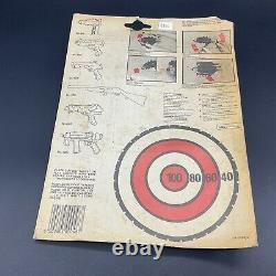 Vintage EDISON GIOCATTOLI 1983 Secret Agent Gun 3 In 1 Italy 007 spy gun LB4