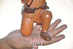 Vintage Fine Celluloid Army/Military Soldier With Gun Toy, Japan