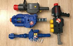 Vintage Ghostbusters Gun Toy LOT 1980s Kenner Proton Pack Ghost Trap Blaster