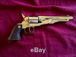 Vintage Gold Nichols Model 61 Cap Gun Pristine Example