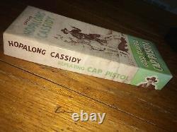 Vintage Hopalog Cassidy Gold Plated Toy Cap Gun Rare