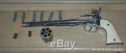 Vintage Hubley Colt 45 Cap Gun, With 6 Original Bullets