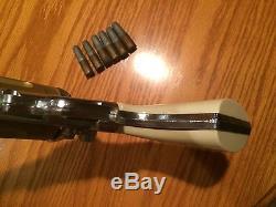 Vintage Hubley Colt 45 Toy Cap Gun withHolster & 6 Bullets (READ)