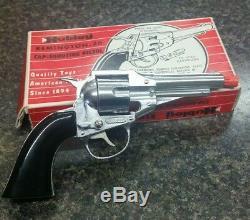 Vintage Hubley Remington 36 Cap Gun Made in USA Working Condition Die- Cast Toy