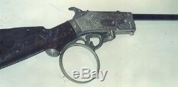 Vintage Hubley The Rifleman Flip Special Cap Gun Rifle 1959 For Parts or Repair