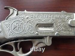 Vintage Hubley The Rifleman Flip Special Toy Cap Gun