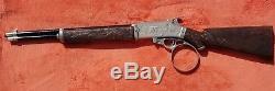 Vintage Hubley The Rifleman Flip Special Toy Cap Gun 1950s USA Clean