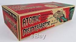 Vintage Hubley Toy Atomic Disintegrator Cap Pistol Gun In Box Unused Oss