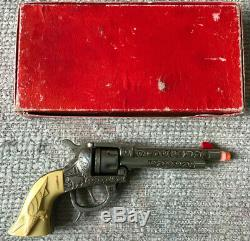 Vintage Kilgore The American Toy Cap Pistol Gun Mint In Box