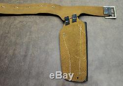 Vintage Leslie Henry Paladin Double Cap Gun and Holster Set