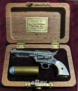 Vintage Little. 45 American Miniature Gun Colt revolver