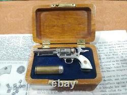 Vintage Little. 45 American Miniature Gun HOLLYWOOD CALIF. In Case