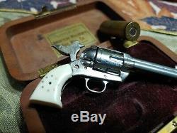 Vintage Little. 45 American Miniature Gun HOLLYWOOD CALIF. In Case #B
