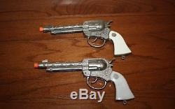 Vintage Lone Ranger Actoy 250 Shot Cap Gun & Holster Set