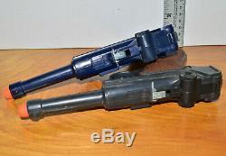 Vintage MARX 1253KU P. 08 GERMAN LUGER Toy Cap Gun WWII 1960s Toys Working