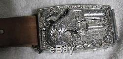 Vintage MATTEL TOY Shootin' Shell Fanner & Buckle Gun- 2 Gun Holster Set