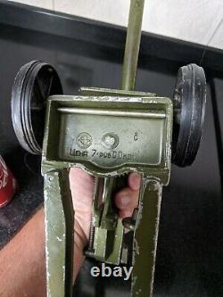 Vintage METAL Toy Big Artillery Gun Anti Tank CANNON Soviet Armor Vehicles USSR