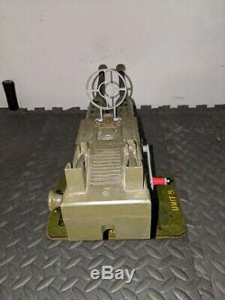 Vintage Marx 21 Anti Aircraft Cannon Twin Pom-Pom Gun (working unit)