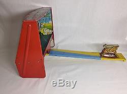 Vintage Marx National Defense Machine Gun Target Practice Litho Military Game