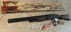 Vintage Marx Shell Ejecting Pump Action Shotgun Child's Toy Gun EXCELLENT in Box