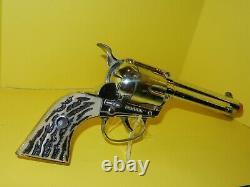 Vintage Mattel Fanner Shoot N Shell Toy Cap Gun 6 Shot, Works Great, Nice