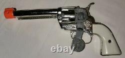 Vintage Mattel Lone Ranger Fanner 50 Toy Cap Gun Set With Matching Holster