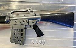 Vintage Mattel Marauder M-16 Automatic Rifle Toy Gun 1966 Works Rare