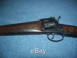 Vintage Mattel Shootin' Shell Colt 6 Shooter Toy Cap Gun Rifle