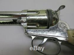 Vintage Mattel Shootin Shell Fanner Toy Cap Guns & Fanner Double Holster