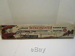Vintage Mattel Winchester Saddle Gun Excellent & With Box