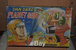 Vintage Merit Randall DAN DARE PLANET GUN 1950's Boxed Exc. Cond