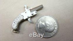 Vintage Miniature Pin fire Gun Charm Fob Made Austria