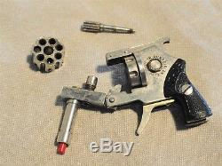 Vintage Miniature Pinfire Revolver Toy Cap Gun Made in Austria