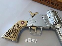 Vintage Nichol's Mustang 500 Cap Gun with Box SUPERB