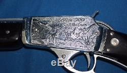Vintage Nichols Stallion 300 Cap Gun Rifle With Box Unfired Beautiful