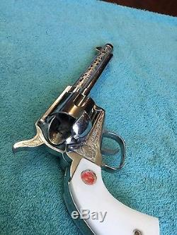 Vintage Nichols Stallion Mark II 45 Toy Cap Gun Box Set