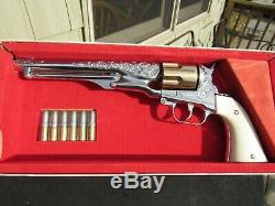 Vintage Original 1958 Hubley Colt 45 Cap Gun In Nos Mib Never Fired Condition