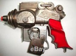 Vintage Original HUBLEY ATOMIC DISINTEGRATOR Metal Buck Rogers Space Toy Gun