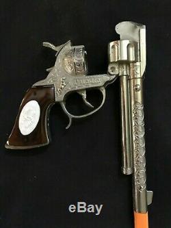 Vintage PALADIN Have Gun Will Travel Cap Gun, Single Holster and Bullets
