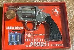 Vintage RARE-1958 Hubley Colt Detective Special Toy Cap Gun Old Warehouse Find