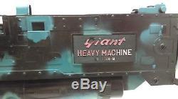 Vintage RARE Matsushiro Toy THUNDERBIRDS Battery Op Giant Heavy Machine Gun 1300