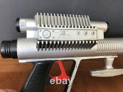 Vintage Rare Mattel LOST IN SPACE ROTO-JET Roto Jet Toy Gun WORKS