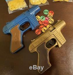 Vintage Rayline Rapid-Fire Tracer Toy Gun 1960s Star Trek