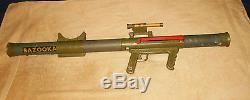 Vintage Remco Marine Raider Toy Bazooka WORKS 1960's Toy Gun
