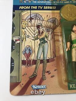 Vintage Star Wars 1985 KEA MOLL Coin Droids Cartoon NEW. Kenner Toy Ungraded