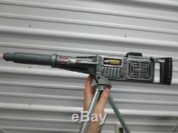 Vintage TADA Tin Litho Japanese M-3 Heavy Machine Gun Battery Powered Toy with Box