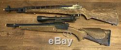 Vintage Topper Johnny Eagle Magumba & Lieutenant Toy Guns Rifles US Army