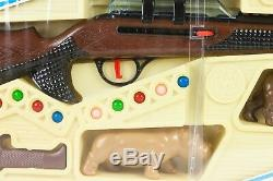 Vintage Toy Rare Rifle Gun 21'' Hunter Set BARVAL Pin Pam Pery SPAIN Harmless