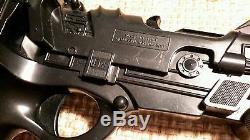 Vintage Toy Space Gun 1982 EDISON GIOCATTOLI SpA. Model ZX271 Movie Prop