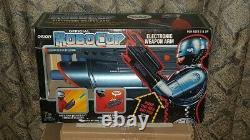Vintage & Very Rare Robocop Toy Island Electronic Weapon Arm Gun Nib